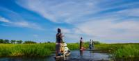 Exploring the Okavango Delta in a traditional African mokoro | Graham MacGregor