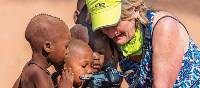 Local Himba children fascinated with the camera | Peter Walton