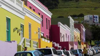 The colorful streets of Bo-Kaap a suburb of Cape Town | Natalie Tambolash