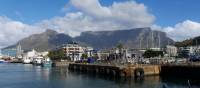 Spectacular views of Table Mountain from the waterfront of Cape Town | Natalie Tambolash