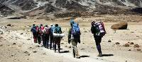 Trekkers set off to Mount Kilimanjaro | Gesine Cheung