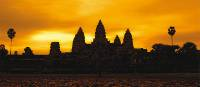 A golden sunrise over Angkor Wat at Siem Reap, Cambodia | David Lazar