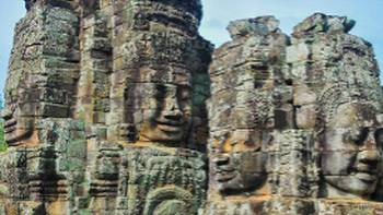 Enigmatic faces of Bayon, Angkor Thom