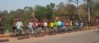 Cycling ais one of the ideal ways to explore the Angkor Wat Cycle temples in Cambodia | Rob Keating