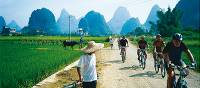 Cycling through rural villages Yangshuo, China | Scott Pinnegar