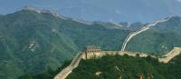 The Great Wall winds its way across China