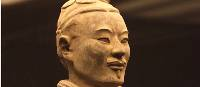 A Terracotta Warrior on display at Shaanxi Provincial Museum, Xi'an | Peter Walton