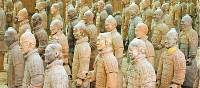 Xian Tomb, home to more than 8000 beautifully crafted, life-size terracotta soldiers