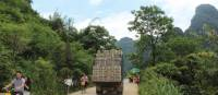 Local traffic on the way to Moon Hill, Yangshuo | Alana Johnstone