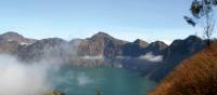 Trekking the beautiful Rinjani Volcano