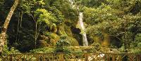 The picturesque Kuang Si Waterfall near Luang Prabang, Laos