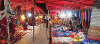 Walks through the night market in Luang Prabang | Kylie Turner