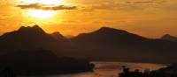 Gorgeous views of the Mekong River at sunset | Kylie Turner