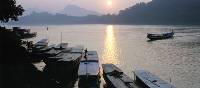 Sunset on the Mekong River, Laos | Ken Campbell