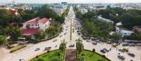 View from the Patuxay Monument, Vientiane | Peter Walton