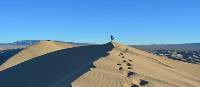 Traipsing through the golden Gobi Desert sand dunes | Loren Winstanley