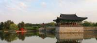 Beautiful architecture in Gyeongju National Park