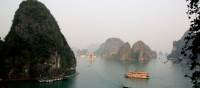 Breathtaking scenery over Halong Bay | Learna Cale