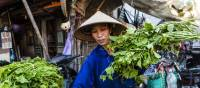Local produce at a market in Hanoi | Richard I'Anson