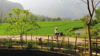 Mai Chau is located in a beautiful valley and surrounded by stunning scenery | Amanda Fletcher