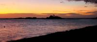Lovely sunset over the Yasawa Islands | Kylie Turner