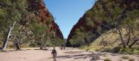 Approaching Simpsons Gap on the Larapinta Trail | Graham Michael Freeman