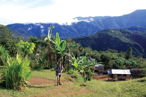 Stunning scenery trekking the Kokoda Track - <i>Photo: Ken Harris</i>