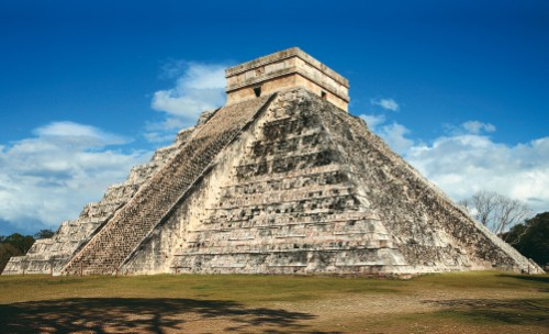 Mayan and Aztec ruins are dotted throughout Mexico and Guatemala