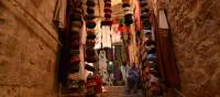 Handicrafts for sale at a local market