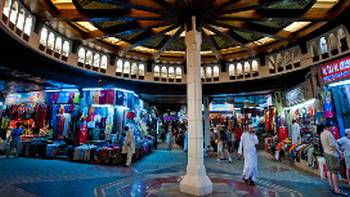 Colourful Mutrah Souk | Oman Ministry of Tourism