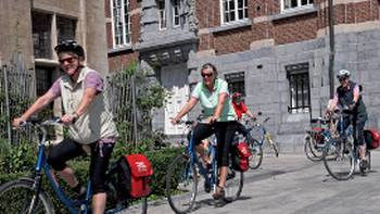 Cycling in Holland is great for first time cyclists