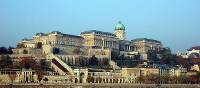 Buda Castle, a historical castle and palace complex of the Hungarian kings in Budapest