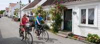 Cycling through Norwegian villages