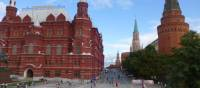 Views across Red Square in Moscow | Caroline Mongrain