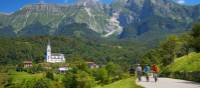 Soca Valley forms a stunning backdrop for cycling | Tomo Jesenicnik