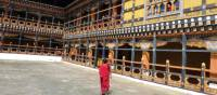 Walking through the Tashichho Dzong in Thimphu | Gavin Turner