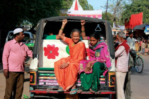 Local transport is quite different on the streets of India - <i>Photo: Rachel Imber</i>