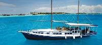 A magical way to explore the Maldives is on a traditional 'dhoni' cruise