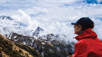Enjoying the breathtaking scenery in the Annapurna region | Mark Tipple