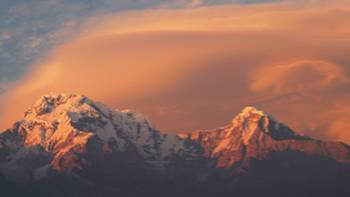 Sunset over the Annapurna region | Ian Williams