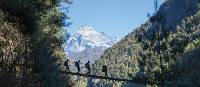 The trail from Namche Bazaar to Monjo | Mark Tipple