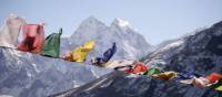 Prayer flags blowing in the breeze | Charles Duncombe