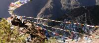 Views from above Namche Bazaar | Charles Duncombe