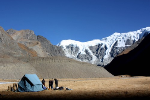 Remote camping at it's best in Upper Dolpo - <i>Photo: Howard Dengate</i>