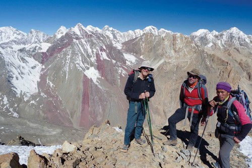 View across the Tibet Nepal border, Far West Nepal - <i>Photo: Tim Macartney Snape</i>