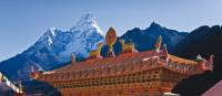 Views of Ama Dablam from Thyangboche Monastery | Peter Walton