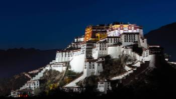 Beautiful views of Potala Palace Tibet | Richard I'Anson