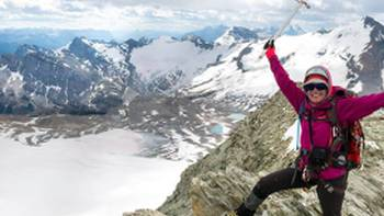 Fantastic achievements and amazing views in the Canadian Rockies