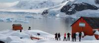 Visiting the Argentinian research centre in Antarctica | Pam Drummond