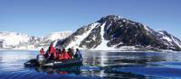 Exploring the Arctic wilderness on zodiacs | Gesine Cheung